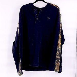 Cabelas men's camo long sleeve sweater size 2XL